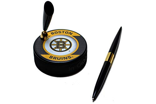 - EBINGERS PLACE Boston Bruins Retro Series NHL Hockey Puck Pen Holder
