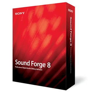Sony Sound Forge 8 With Noise Reduction 2.0