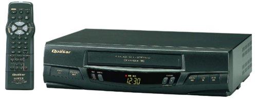Quasar VHQ-450 4-Head Hi-Fi VCR by QUASAR
