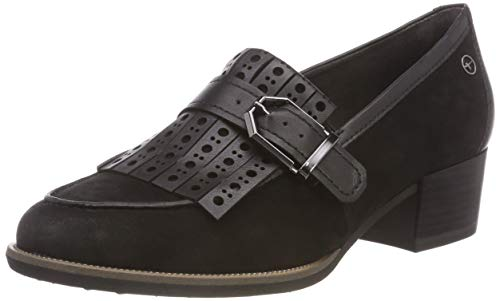 black 21 1 Tamaris Donna Mocassini 24306 Nero f8xqXpwq