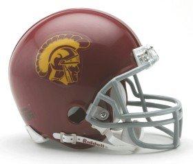 (USC Trojans Replica Mini Helmet w/ Z2B Mask)