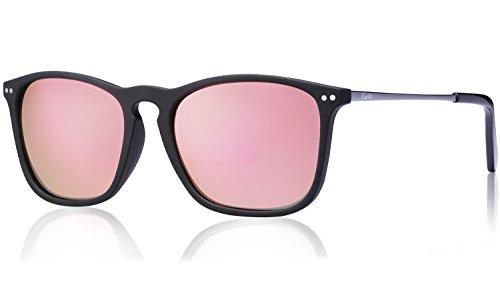 0ef37f836c Carfia Vintage Polarized Sunglasses for Men