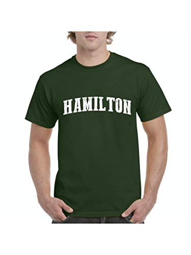 Hamilton City Ontario Canada Traveler Gift Men's Short Sleeve T-Shirt (MMG) Military Green]()