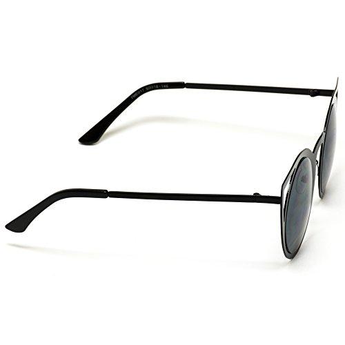 f59e1d47820 Jual Womens Cateye Retro Fashion Retro Round Lens Cat Eye Sunglasses ...