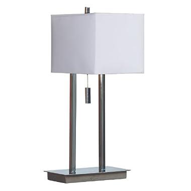 Kenroy Home 30815ch Emilio 1 - Light Accent Lamp - 60w (M) - 30815chrome