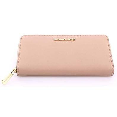 Michael Kors Jet Set Item Travel Zip Around Wallet, Leather ...