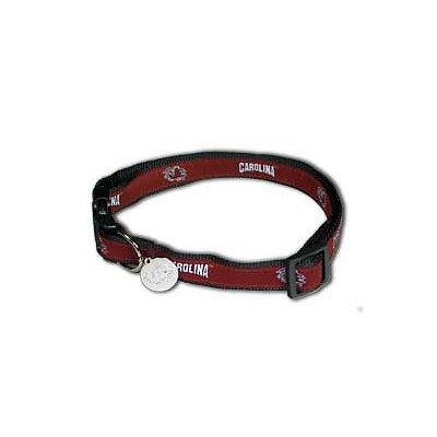 NCAA South Carolina Gamecocks Dog Collar, Medium/Large
