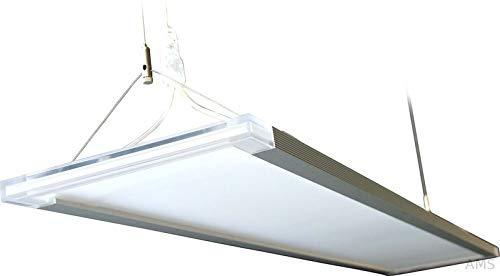 Opple LED Suspended Glassy Rectangle Panel Zenith 80W-5700K