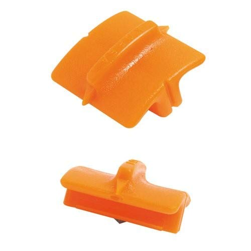 (Fiskars 195960-1001 Trimmer Cutting Replacement Blades Style G, Orange)