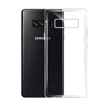 Funda Samsung Galaxy Note 9 transparente, COOKAR Funda protectora transparente ultra delgada de silicona para la carcasa del Samsung Note 9. Funda de ...