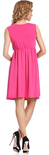 Merry Style Mujer Vestido Tess Amaranto