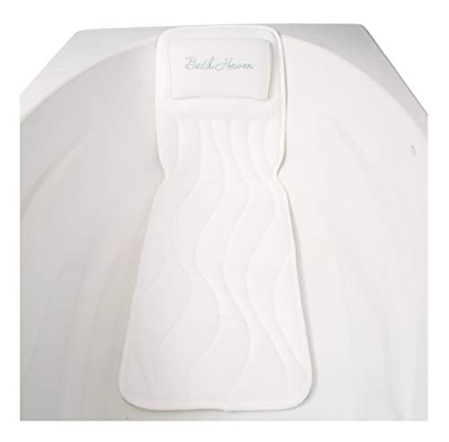 QuiltedAir BathBed Deluxe - Luxury Bath Pillow and Spa Cushion for Full Body Comfort