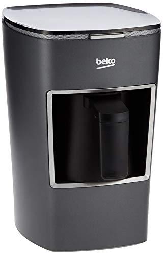 Beko Single Pot Turkish Coffee Machine – BKK 2300 B , Gray, 1 Year Warranty