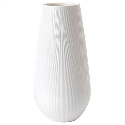 Amazon Wedgwood White Folia Vase Tall Home Kitchen