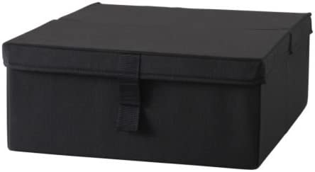 Ikea Lycksele Storage Box Chair Bed Black Amazon De Kuche Haushalt