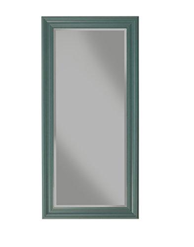 Sandberg Furniture Elegant, Full Length Leaner Mirror, Teal
