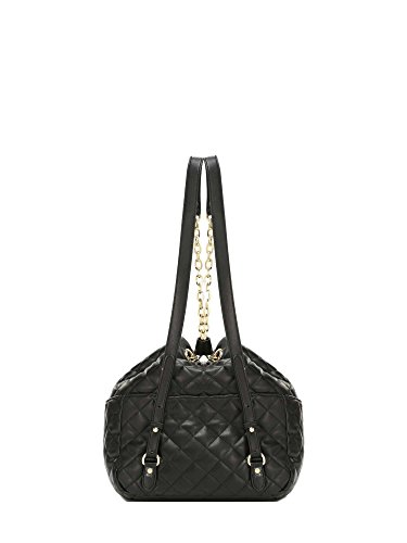 Liu Jo Tulip Napa bucket bag with drawstrings L black Light Gold