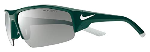 Nike Men's Skylon Ace Xv Rectangular Sunglasses, Oregon Green, 75 mm ()