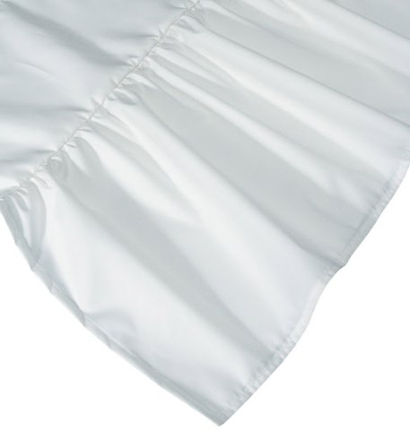 "Dust Mite- and Allergen-Proof Bedskirt; ""Premium Microfiber"" (Twin; White)"