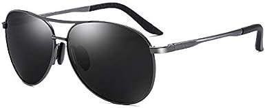 نظارات شمسية افياتور من صن فيو للرجال والنساء، بعدسات مستقطبة تحتوي على حماية من الاشعة فوق البنفسجية، خفيفة الوزن مناسبة للقيادة، وممارسة الرياضة، وصيد السمك.