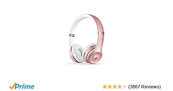 Amazon.com  Beats Solo3 Wireless On-Ear Headphones - Rose Gold 208a864a9f