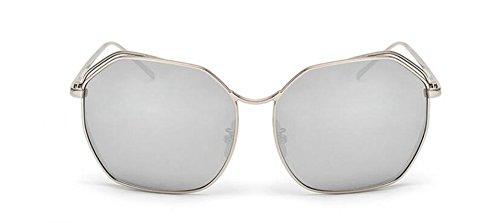 Mercure rond de retro vintage polarisées inspirées soleil métallique en style Lennon Comprimés lunettes cercle de du Zdq77Y