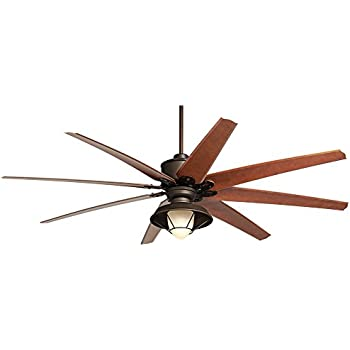 72 ceiling fan with light clear glass light 72