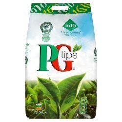 PG Tips Tea Bag 3.5Kg - 1610 Pyramid Tea Bags (Pack Of 2) by PG Tips