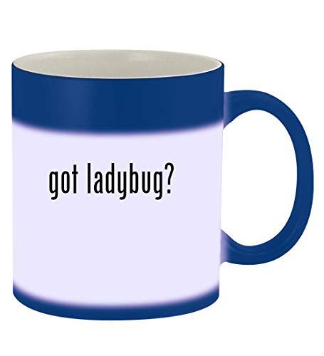 got ladybug? - 11oz Magic Color Changing Mug, Blue -