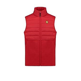 b1c54ec7acca5 Amazon.com: Scuderia Ferrari Formula 1 Men's Red Padded Vest: Clothing