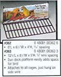 Prevue Pet Products Black Wire Patio Sundeck – 8″, My Pet Supplies