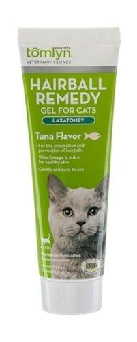 Tomlyn Hairball Remedy Gel for Cats, Tuna Flavor, (Laxatone) 2.5 (Hairball Paw Gel)