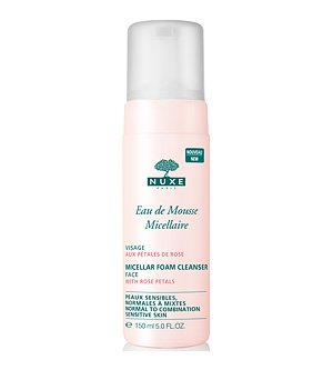 NUXE Micellar Foam Cleanser with Rose Petals, 5 fl. oz.