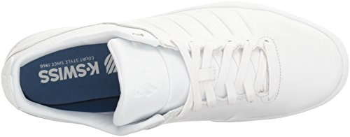 Fashion Westan White K Swiss Court Men's White Sneaker 8A1fB
