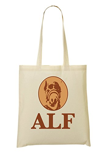 LukeTee Alf T-Shirt Bolso De Mano Bolsa De La Compra
