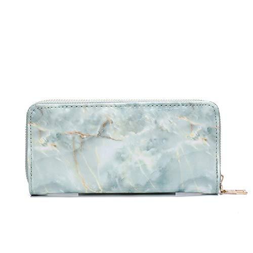 Sac Sac Vert de éclair Mode Bracelet à Sac Bourse Dames soirée coloré fée avec de marbre Blanc en d'embrayage ZHRUI Cuir Fermeture étudiant Main de Sac 7n1wafXX4x