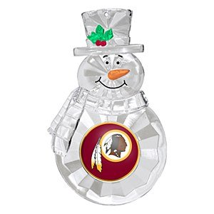 NFL Washington Redskins Traditional Snowman Ornament