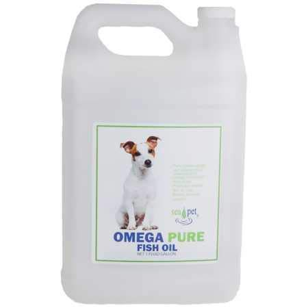 Sea Pet Omega Pure Fish Oil (1 Gallon) by Sea Pet
