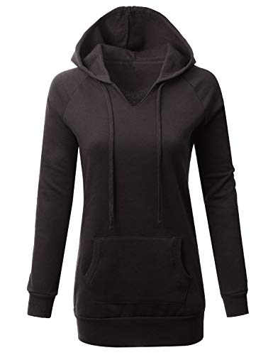 (Fifth Parallel Threads FPT Raglan Tunic Hoodie Black S)