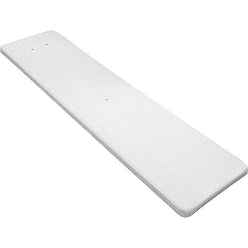 (Inter-Fab DS6WW Diving Board Replacement for In-Ground Pools, Duro-Spring, White)
