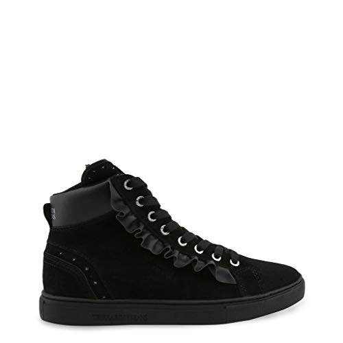 Donna Basse Sneakers Trussardi 79a00242 Scarpe Nero 7ROqwzCw