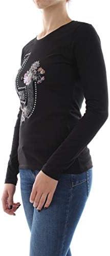 Liu Jo W69261 J5003 T Shirt and Tank Women Nero S