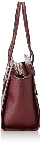 Guess Damen Hwvg6421080 Shopper, 13x22.5x36 cm Rot (Bordeaux)