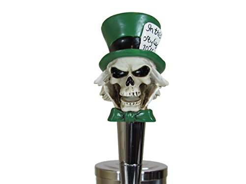 Mad Hatter Beer Tap Handle Kegerator Resin Zombie Breweriana Bar by Kool Collectibles