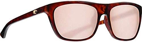 - Costa Cheeca Two Tone Resin Frame Copper Silver Lens Unisex Sunglasses CHA201OSCP
