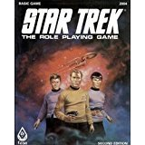 Star Trek: The Role Playing Game - Basic Game (Second Edition) by FASA Corporation