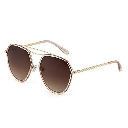 NIFG Harajuku soleil Lunettes style de de lunettes soleil rétro protection UV dégradé rXX7qwZ
