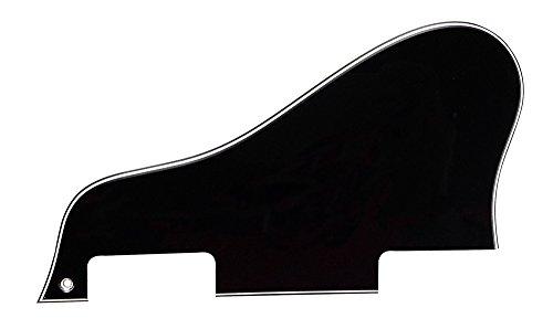 3-ply Electric Guitar Pickguard Scratch Plate Black - 7
