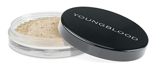 Youngblood Clean Luxury Cosmetics Natural Loose Mineral Foundation, Pearl | Loose Face Powder Foundation Mineral Illuminating Full Coverage Oil Control Matte Lasting | Vegan, Cruelty-Free