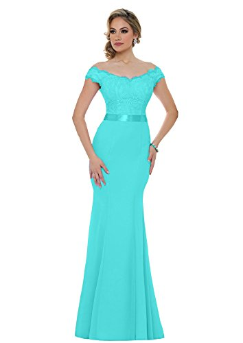 Beauty Bridal Women's 2018 Long Mermaid Bridesmaid Dress Off Shoulder Sequins Evening Prom Dresses S015 - Tiffany Return To Please
